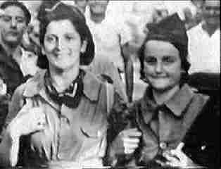 Women anarchist militia in Spanish Revolution