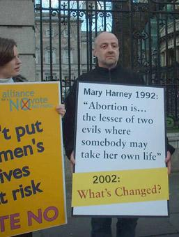 Mary Harney : Abortion is the lesser of two evils