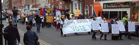 March on parnell Square, Dublin