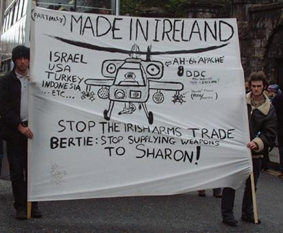 Ireland and the international arms trade