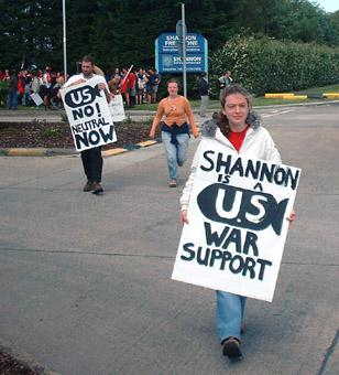 Shannon is US war port
