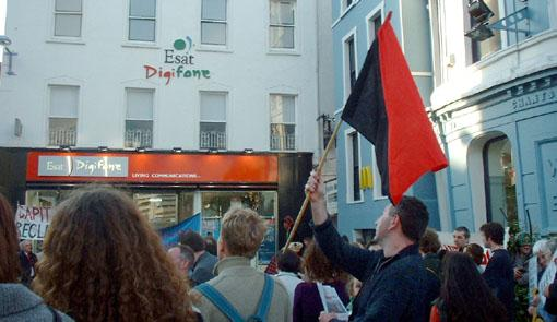 Anarchist falg in Cork