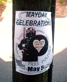 Cork May Day poster
