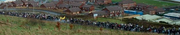 Bloody Sunday march descends into Brandywell