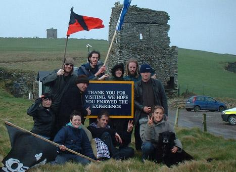 Anarchists at the Old head of Kinsale
